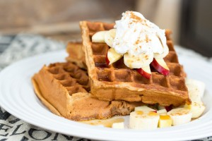 Easy Coconut Waffles